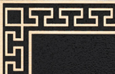 Cast Plaques Borders - Custom Greek Key Border